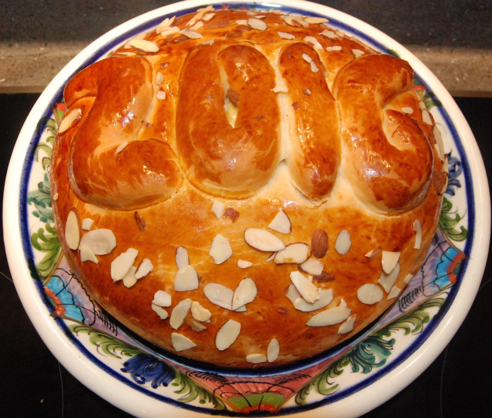 Vasilopita - Greek New Year's Bread with Mahlepi & Mastica | Glyka ...