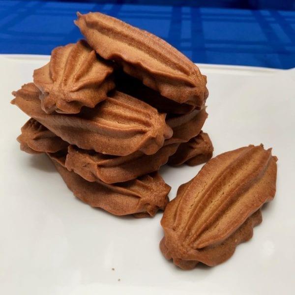 Vegetarian, vegan Moustokouloura grape molasses cookies from Glyka Sweets