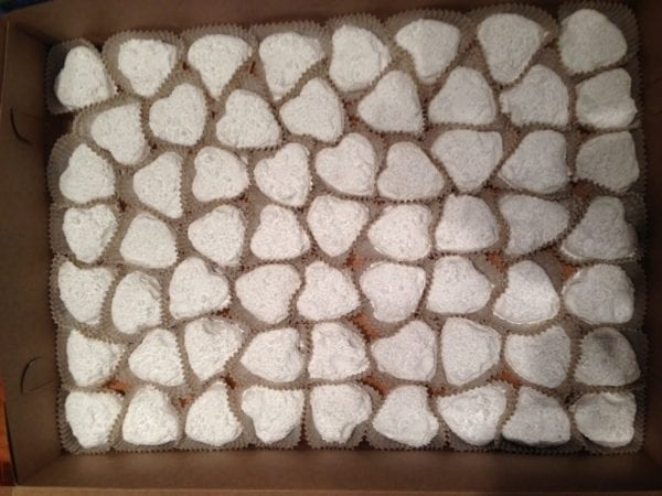 Kourambiedes Greek wedding cookies from Glyka Sweets