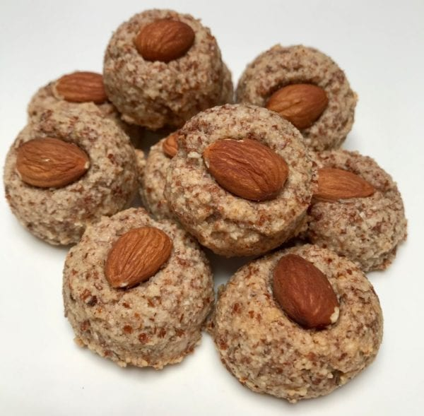 Petite almond balls from Glyka Sweets Greek cookies and pastries