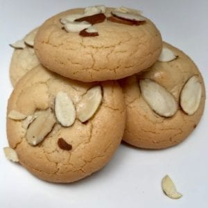 Amygdalota almond cookies from Glyka Sweets