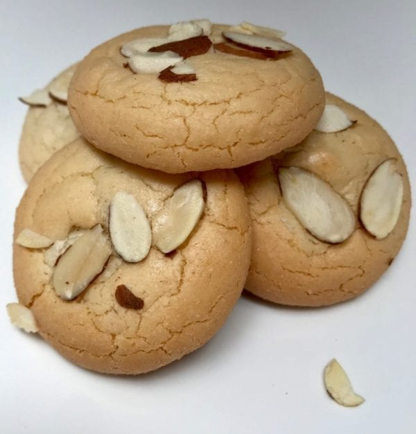 Amygdalota almond cookies from Glyka Sweets