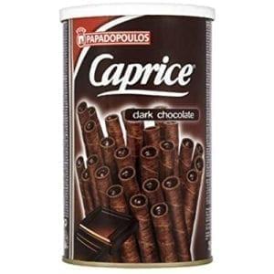 Caprice Dark Chocolate Cookies