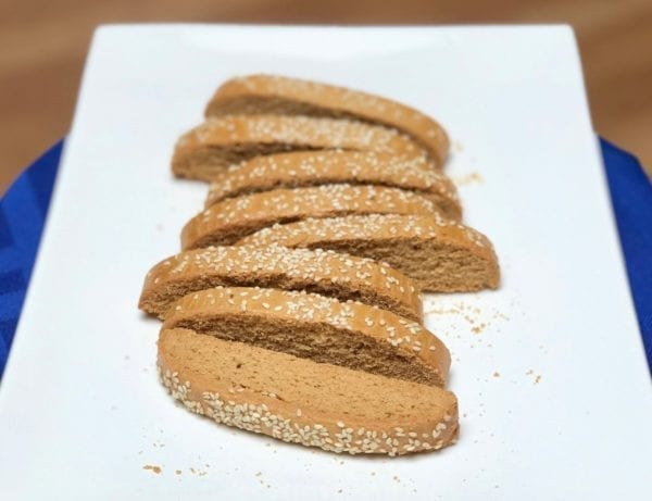 Paximadia biscotti dipping cookies from Glyka Sweets